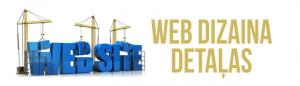 WEB dizains detaļas